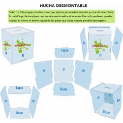 Hucha desmontable