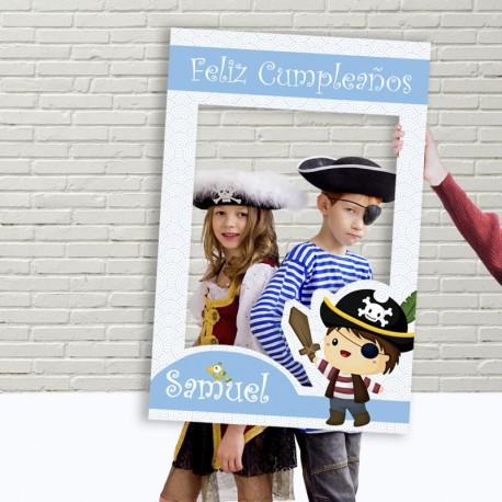 Photocall cumpleaños pirata