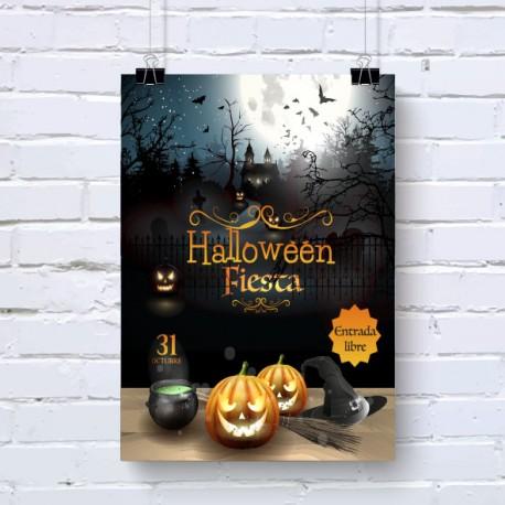 Cartel para Halloween Imprimoverde